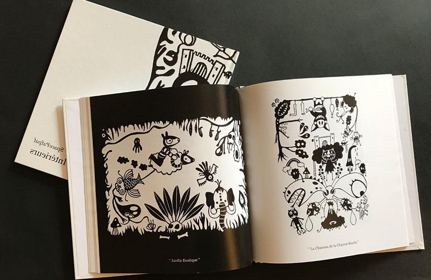« Démons intérieurs » – recueil de gravures sur linoléum